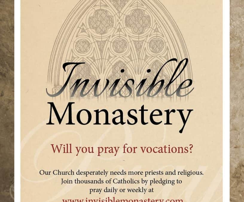 Invisible Monastery Poster