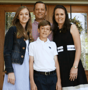 Rhonda Gruenewald and Family. Author of Hundredfold: A Guide to Parish Vocation Ministry