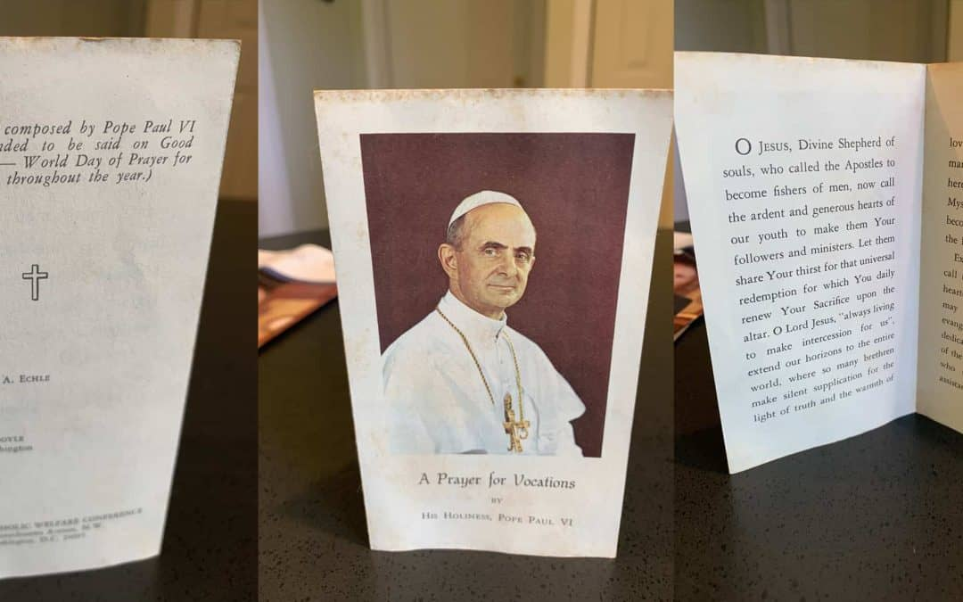 The saint who started World Day of Prayer for Vocations